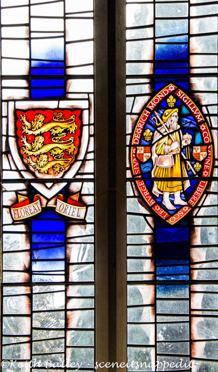 #42 South Window St Mary's Church Richmond Yorkshire