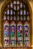 #45 St Mary's Church Richmond Window Detail