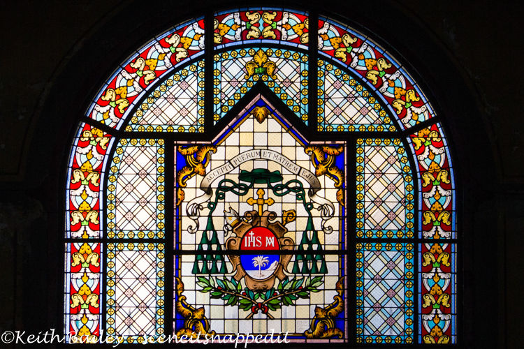 #46 Stained Glass Martinique Cathedral