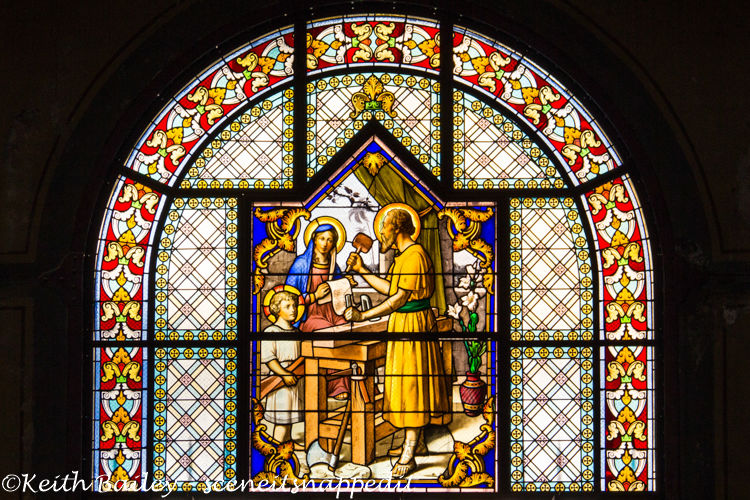 #47 Stained Glass Martinique Cathedral