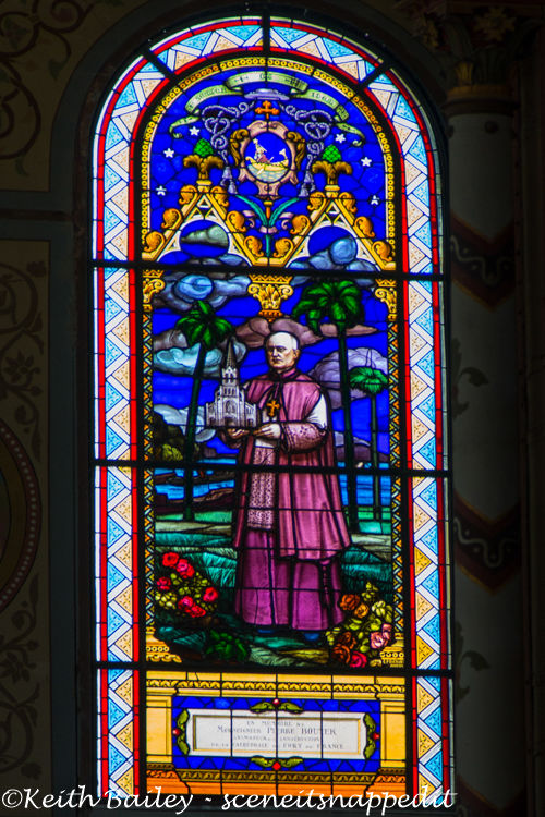 #52 Stained Glass Martinique Cathedral