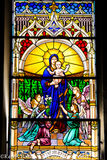 #56 Stained Glass The Church of St Mary The Crowned Gibraltar