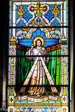 #57 Stained Glass The Church of St Mary The Crowned Gibraltar