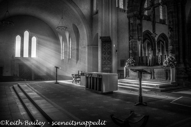 #5 Early Morning Light Ampleforth Abbey - Mono Study
