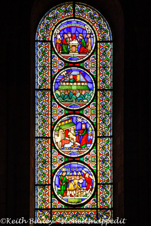 #128 Ely Cathedral Stained Glass
