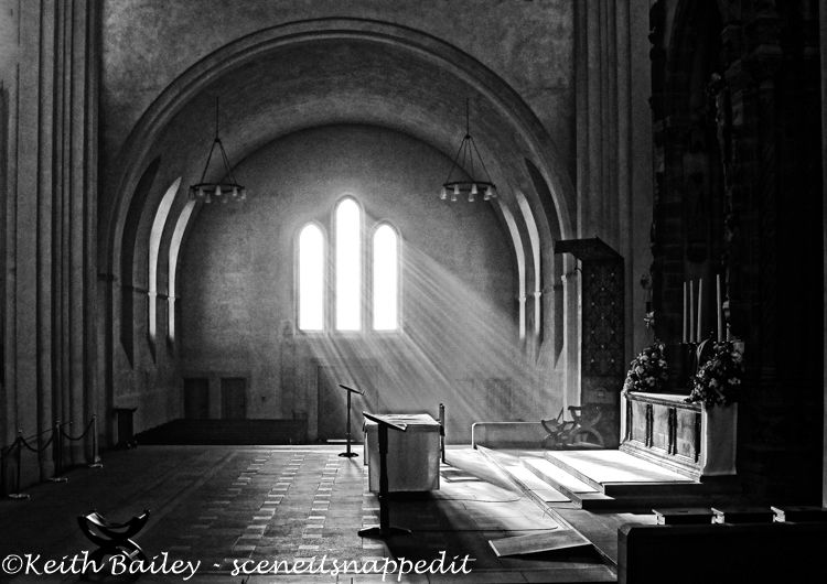#9 Early Morning Light Ampleforth Abbey - Mono Study