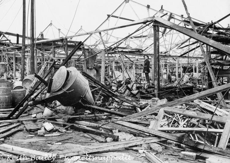 BG7 Park Royal London Bomb Damage July 1944