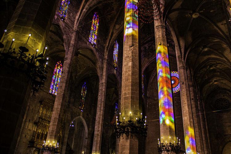 Palma Cathedral Kaleidoscope