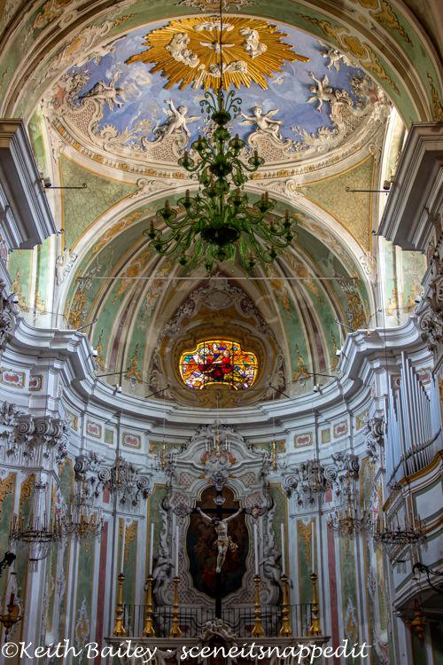 #123 Interior of the Church of San Matteo Laigueglia