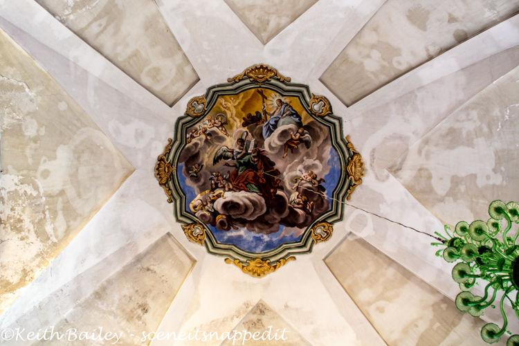 #124 Interior of the Church of San Matteo Laigueglia