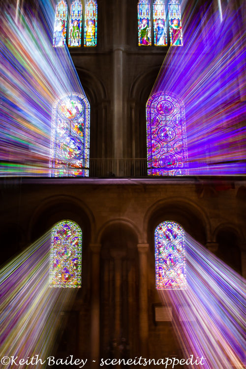 #82 Ely Cathedral Shining Light