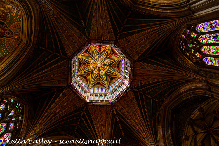 #132 Ely Cathedral The Lantern & Ceiling