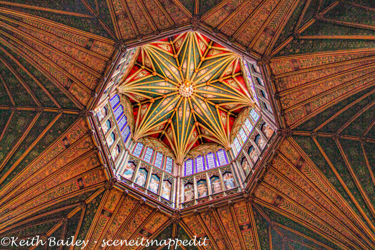 #131 Ely Cathedral The Lantern (HDR)