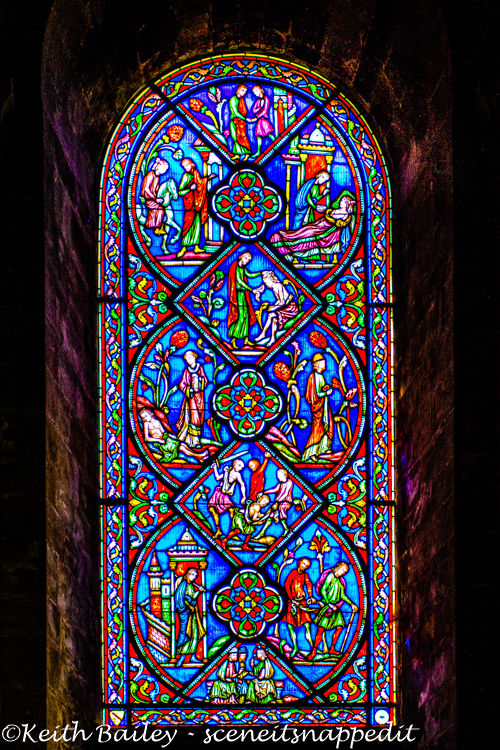 #129 Ely Cathedral Stained Glass