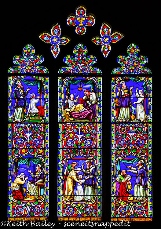 #68 Ely Cathedral Stained Glass