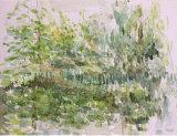 Watercolour sketch, Kew Gardens