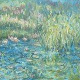 Blue Lake III, 100 x 150cm