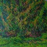 Autumn Pine IV, 100 x 100cm