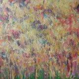Late Autumn Heath, 100 x 150cm