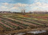 Tulip field sketch