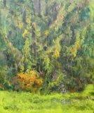 Autumn Pine, 60 x 45cm