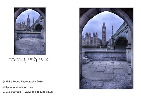 Big Ben Greetings Card