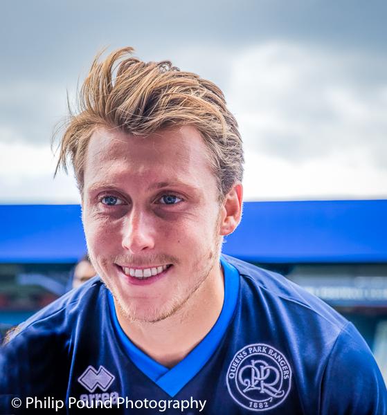 Luke Freeman at QPR Training