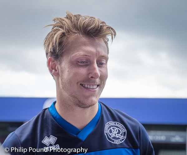 Luke Freeman at QPR Training Session