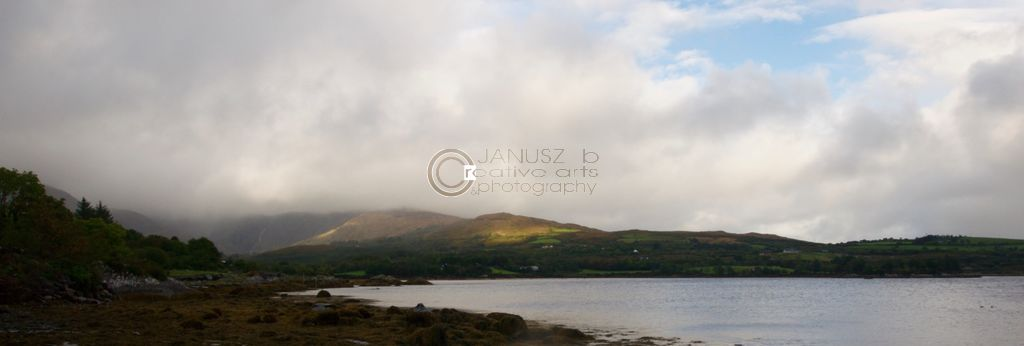 a downpour over the Beara
