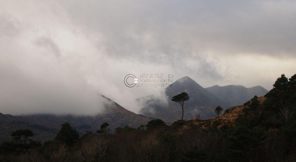 Sugar Loaf in the clouds