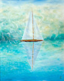 Vessels  (Oil on Canvas)    80cm X 100cm