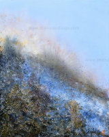 A Wintry Weave (Mixed Media) Gallery Wrapped Stretched Canvas....100cm X 80cm X 1.8cm