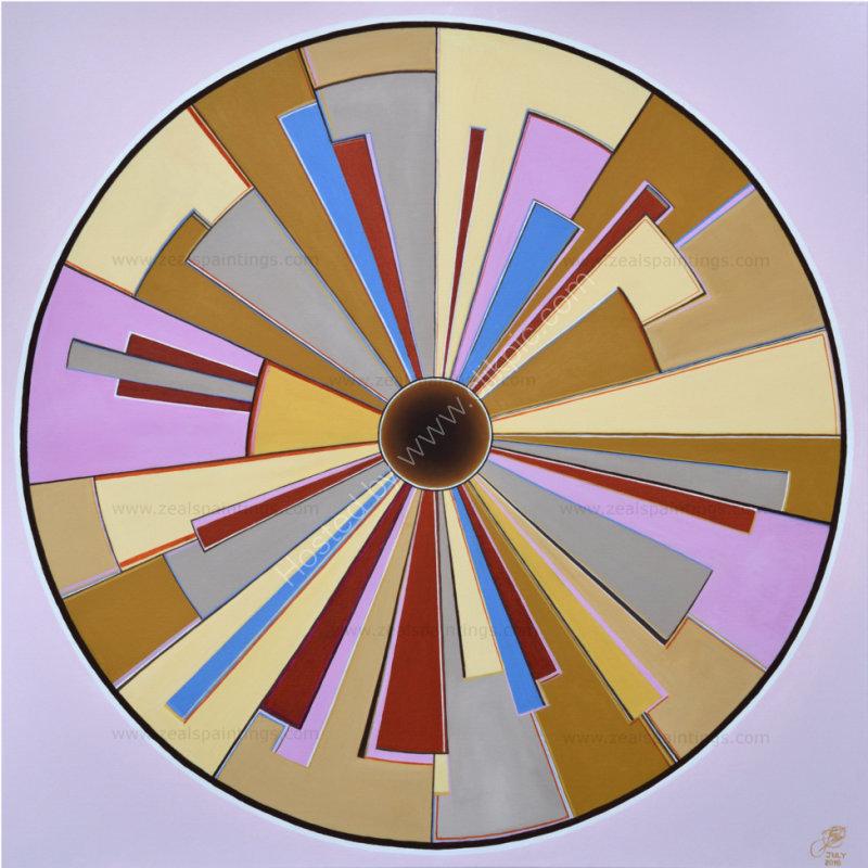 Perspective Eye No2                        90cm x 90cm x 3.7cm