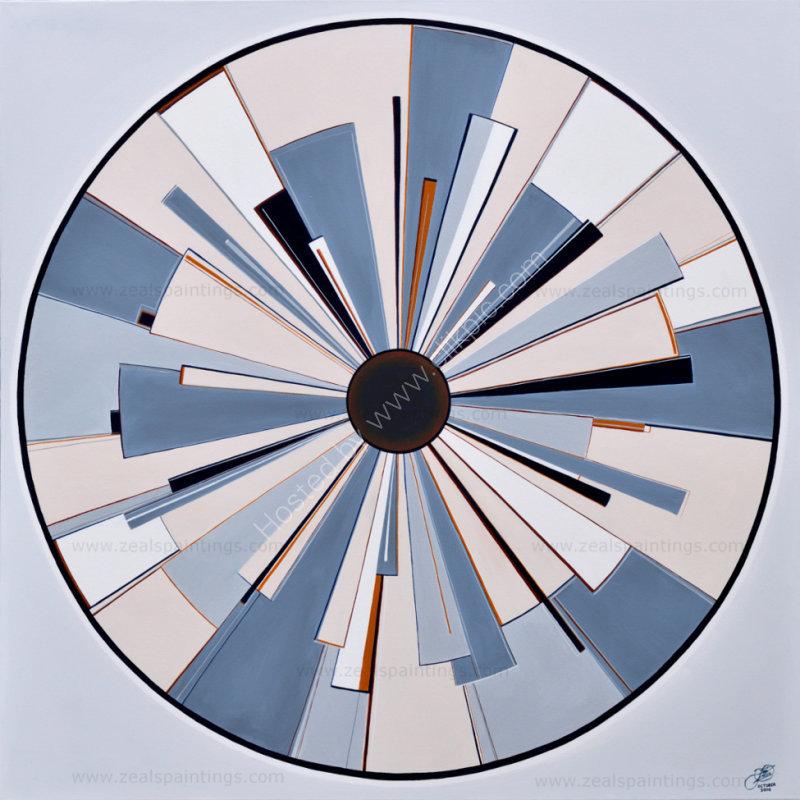 Perspective Eye No3         90cm x 90cm x 3.7cm