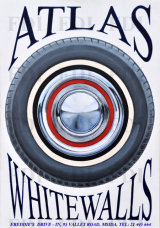 'ATLAS  WHITEWALLS' .......Sign writing
