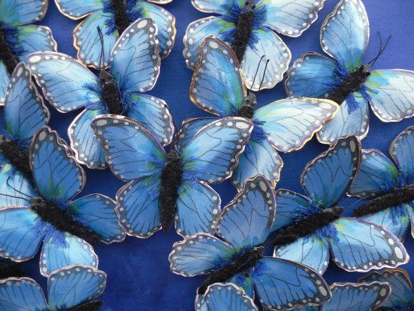 Blue Butterflies (detail)