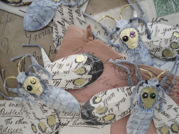Moth Letters (detail)