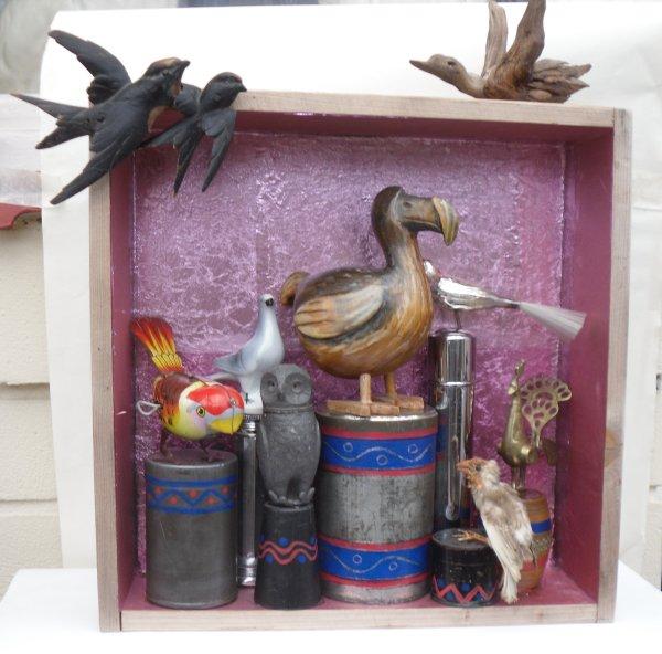 Totem No 5 - Birds