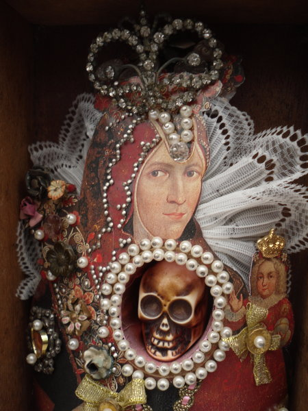 Virgin in a Cigar Box (detail)