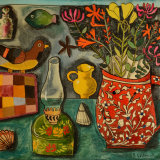 Still Life with Breton Patchwork