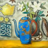 The Golden Dragon Teapot