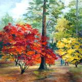 Acers, Westonbirt ws  sold