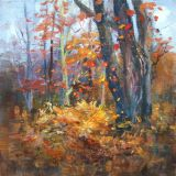 Autumn Dance, Oil ws