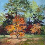 Autumn, Old Westonbirt. ws   sold