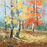 Autumn Woodland  oil  sold