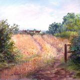 Coalpit Heath, August, pastel ws  sold