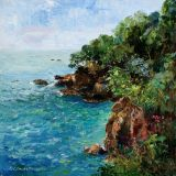 Dartmouth Cliffs, Oil  sold