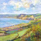 Lyme Bay, Dorset, Oil ws