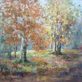 November Calm, New Forest, Oil ws