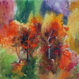 Rustic colours, Westonbirt. ws  sold